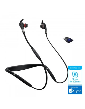 Jabra Evolve 75e Skype for Business In-Ear Headset