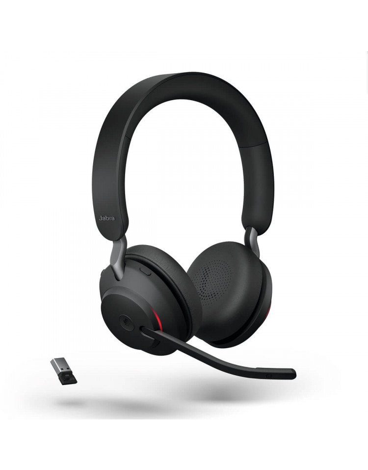 Jabra Evolve2 65 MS Stereo USB-A Black