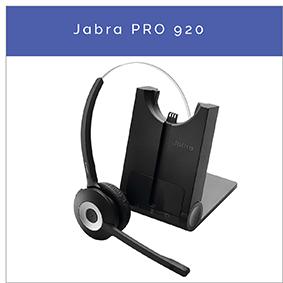 Jabra PRO 920 Wireless DECT Mono Headset für Festnetztelefon