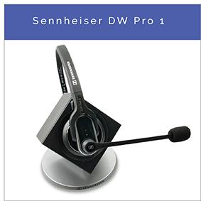 Sennheiser DW Pro 1 Kabelloses DECT-Festnetz und PC-Headset