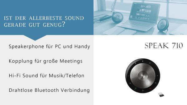 Jabra Speakerphone Guide Speak 710