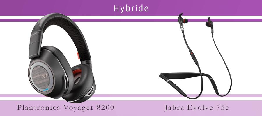 Plantronics 8200 vs. Jabra Evolve 75e UC Vergleich