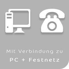 Headset für Handies in Verbindung mit PC und Festnetz