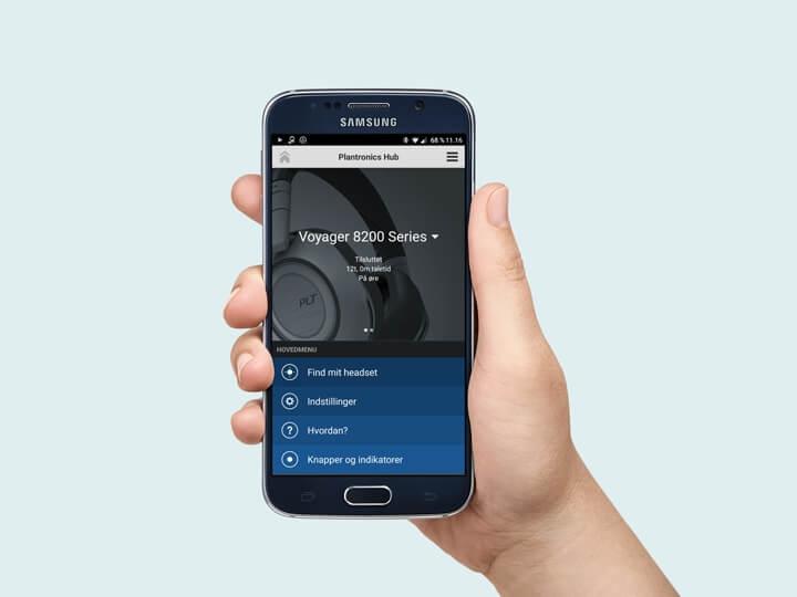Plantronics Hub til mobil